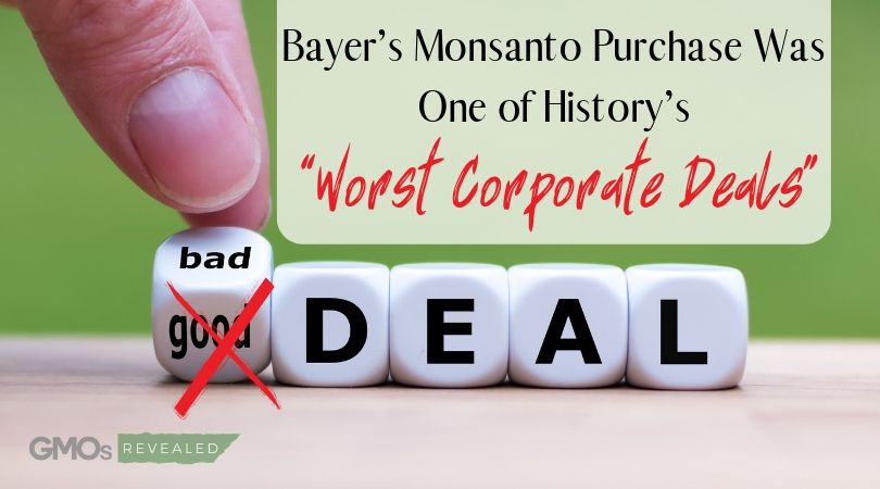 """Bayer's Monsanto Purchase Was One of History's """"Worst Corporate Deals"""""""
